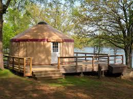 Unique Rentals Yurts In Arkansas Unique Lodging Arkansas State Parks
