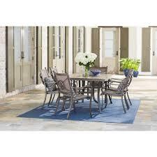 home decorators collection wilshire estates 7 piece aluminum sling