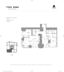 cn tower floor plan the one bloor west pre construction toronto condosky realty