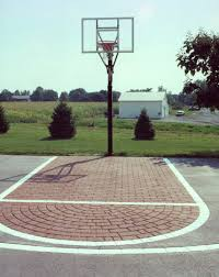 basketball courts with lights near me tennis court paving basketball court paving kreider driveways