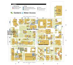 san jose state map maps fliers and media growing roots of wellness