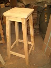 taburete madera taburete o banqueta de madera 75 cm 671 00 en mercado libre