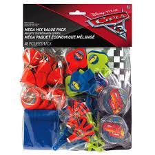 Favor Toys by Disney Cars 3 Favor Pack Boys Birthday Supplies Toys Piñata