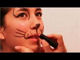 face painting and makeup how to make a cat u0027s nose u0026 whiskers