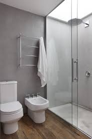 Modern Restrooms by Best 25 Wood Floor Bathroom Ideas Only On Pinterest Teak