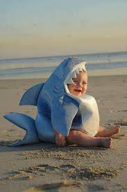 Shark Costume Halloween Baby Shark Funny Cute Photography Beach Baby Costume Ideas Shark