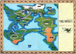 Ff6 World Of Ruin Map by Image Ffii Japanese World Map Jpg Final Fantasy Wiki Fandom