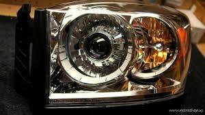 2006 dodge ram 2500 headlight bulb 2006 2008 dodge ram hid projector retrofitted headls