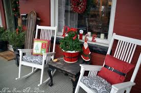 Christmas Porch Decorations by Christmas Front Porch Home Stories A To Z