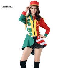 party halloween costumes adults aliexpress com buy kimring fashion majorette costume women