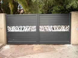 Portail Pas Cher En Pvc by Portail Alu Design Portillon Pvc Carlier Construction