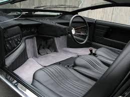 1992 subaru svx interior 1968 bizzarrini manta italdesign studios