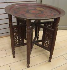 Brass Tray Table Brass Tray Table Antique Furniture Ebay