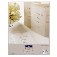 program paper celebrate it occasions half fold program paper kit ivory