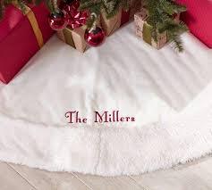 sheepskin white velvet tree skirt