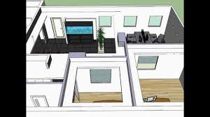 Home Design Using Sketchup by Small Office Design In Sketchup Youtube
