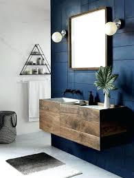 navy blue bathroom u2013 homefield
