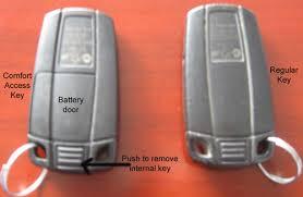 2006 bmw 325i key fob non comfort access key battery
