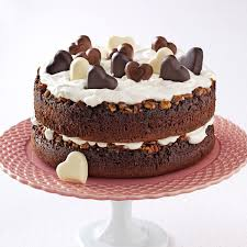 chocolate praline layer cake recipe taste of home