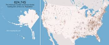 Verizon Alaska Coverage Map by Nobody Lives Here The Nearly 5 Million U S Census Blocks With