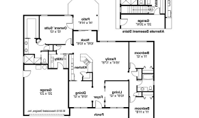 craftsman floorplans best of 24 images modern craftsman floor plans house plans 63659