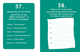 short books 101 things to take the stress out of christmas