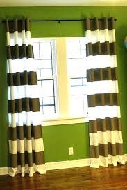 Black White Stripe Curtain Horizontal Striped Curtains Golbiprint Me