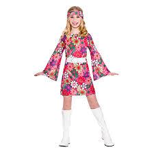 girls retro go go fancy dress up party costume halloween