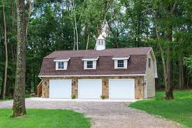 24x36 Garage Plans by Patriot Gambrel Style 1 Story Garage The Barn Yard U0026 Great
