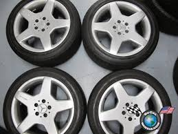 mercedes amg wheels 18 99 06 mercedes s430 s500 factory amg 18 wheels tires oem rims w220