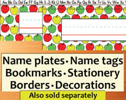printable classroom name tags decorations printable name