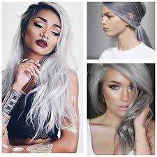 hair trends for spring and summer 2015 for 60year olds hottest beauty trend gray hair affordable online fashion