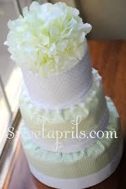 fondant style diaper cake tutorial diy sweetaprils com