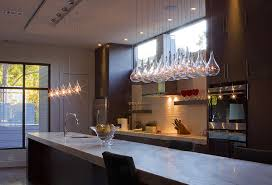 kitchen island breakfast bar with futuristic chromed bar stools