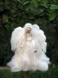 christmas tree topper christmas angel waldorf inspired needle