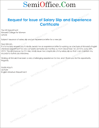 sample of request letter for salary certificate huanyii com
