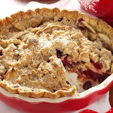dutch cranberry apple pie recipe taste of home