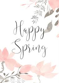 happy spring let u0027s celebrate with a lovely free printable