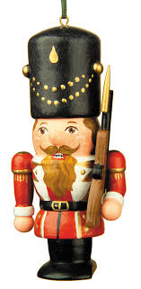 nutcracker ornaments tree ornament nutcracker soldier 7 cm 3in by hubrig volkskunst