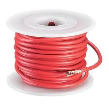 radioshack 35 foot 10awg automotive hookup wire red