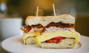thanksgiving leftover sandwich give thanks for leftover turkey breakfast sandwiches extra crispy