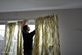 How To Hang Sheers And Curtains How To Hang Curtains A Quick Tutorial Hey Let U0027s Make Stuff