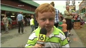 Running Kid Meme - kid reporter s live tv interview apparently goes viral video abc