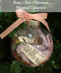christmas ornaments baby a bolt of baby s christmas ornament