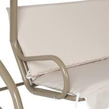 Swing Patio Furniture Outdoor 2 Person Canopy Swing Glider Hammock Patio Furniture