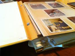 photo album with adhesive pages my favorite place to store my photographs forever