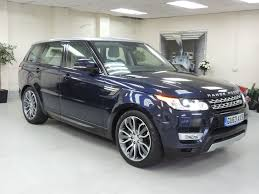 range rover sport silver used land rover range rover sport sdv6 hse immaculate full