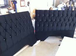bed backboard queen bed headboard deep buttoned with crystal type