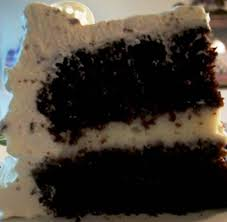 very moist chocolate cake with whipped cream topping u0026 french