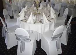 Elegant Chair Covers Elegant White Wedding Chair Covers Concept Weddingsrusdeco